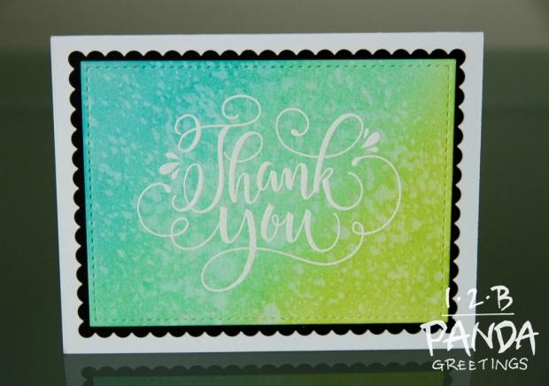 Thank you ink blend green wm